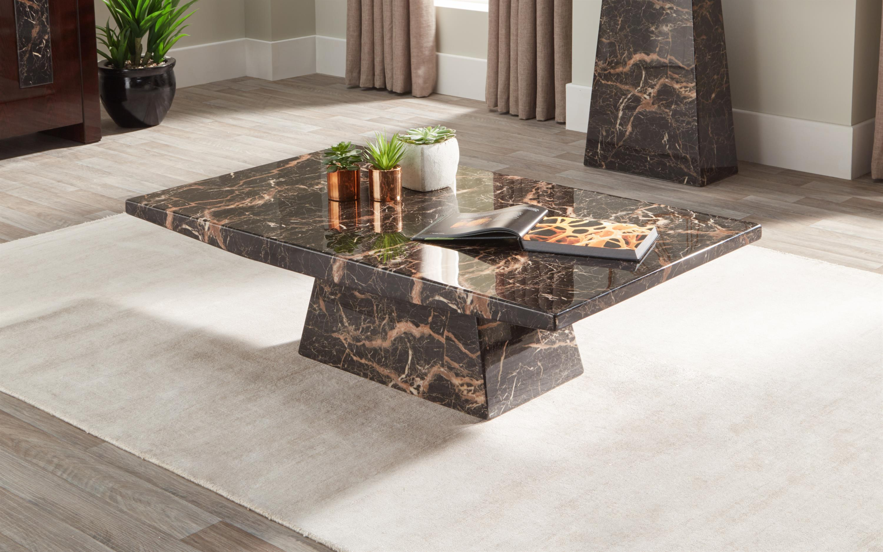 Adelaide Marble Coffee Table