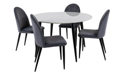Milano Dining Table & 4 Chairs, , small