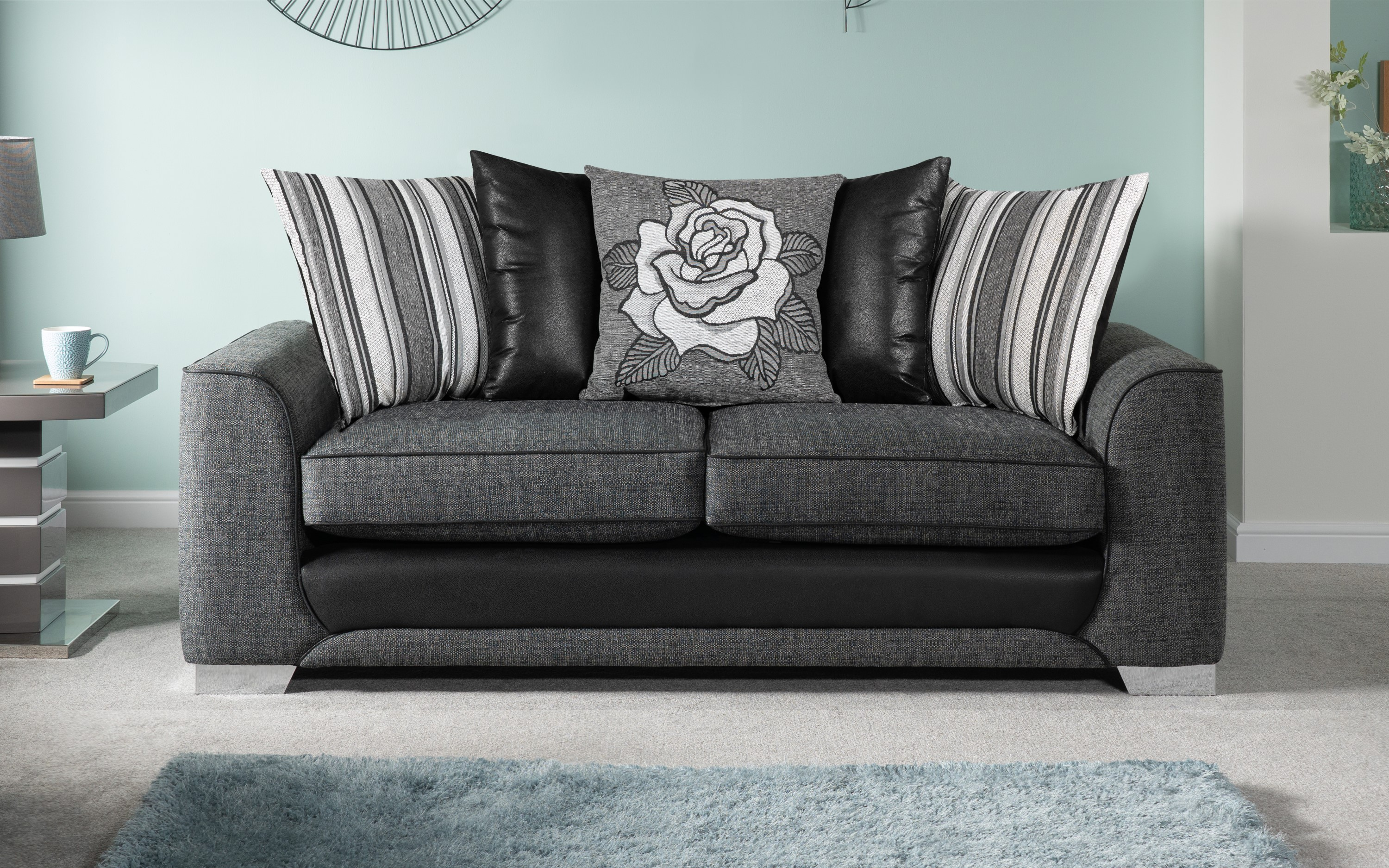 Monty 3 Seater Sofa Scatter Back