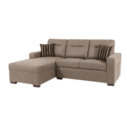 Endurance Snoozer 3 Seater LHF Storage Bed Chaise Sofa