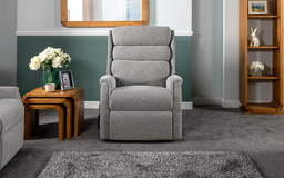 Celebrity Sandford Large Dual Motor Elevate Chair w/ Headrest Action