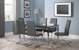 Pimlico Glass Dining Table & 6 Chairs