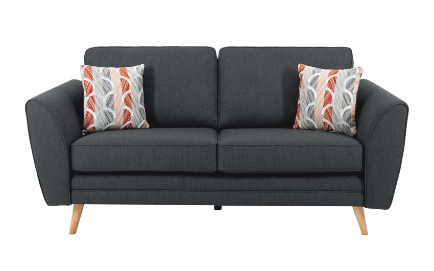 Troy 3 Seater Sofa Standard Back