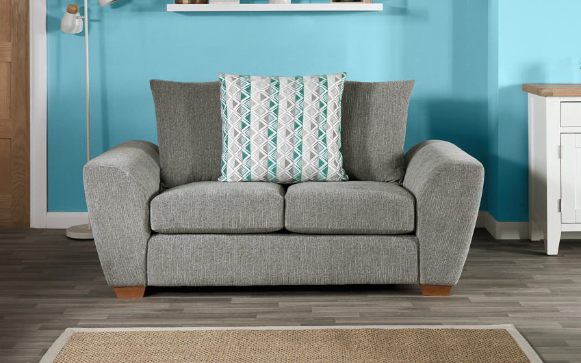 Lulu 2 Seater Sofa Scatter Back