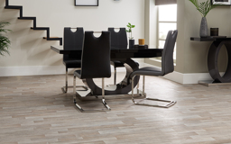 Tokyo Black & Grey Dining Table & 4 Chairs