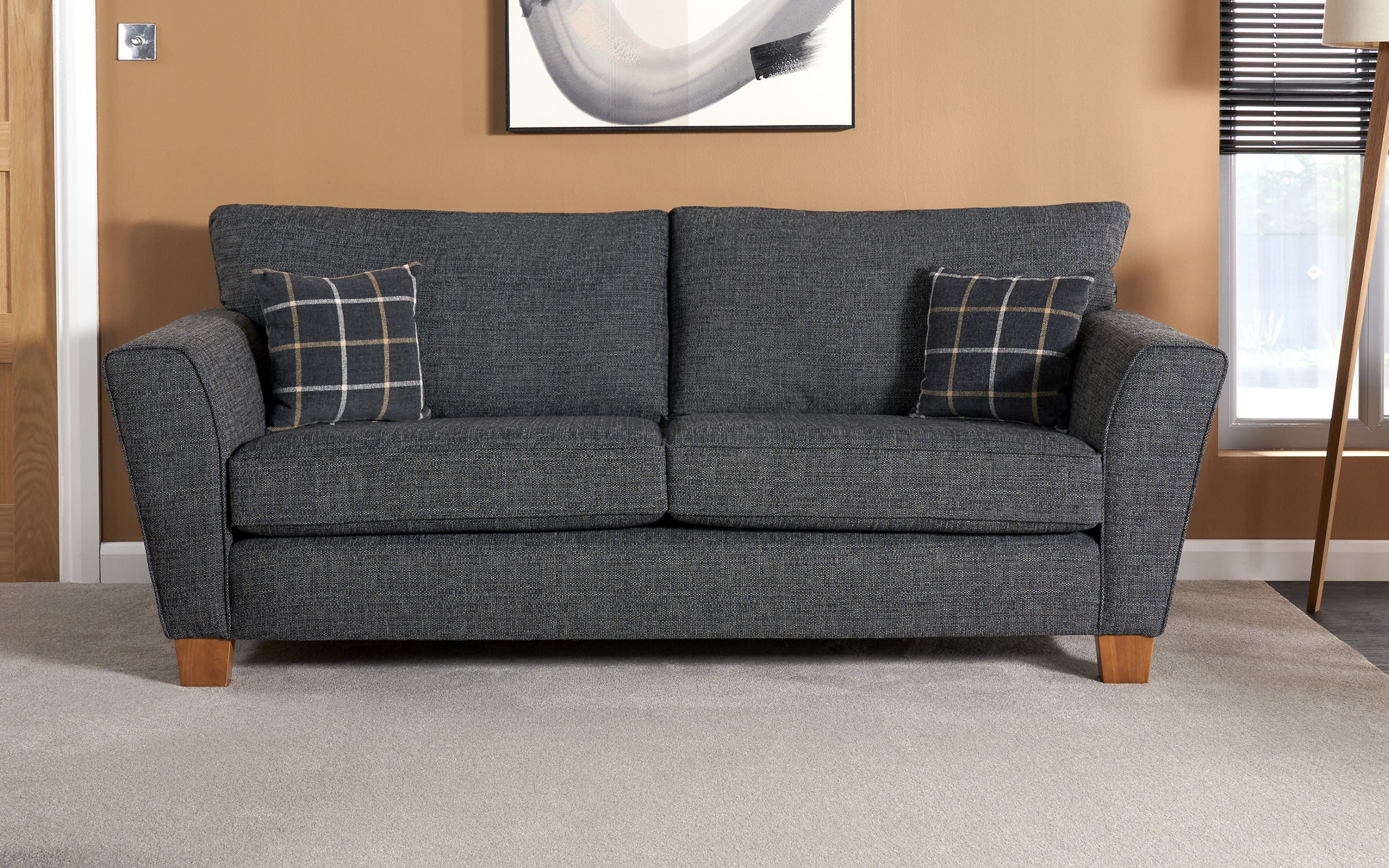 Harry 3 Seater Sofa Standard Back
