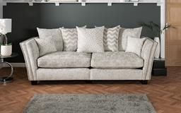 Miley 4 Seater Split Sofa Scatter Back, , small