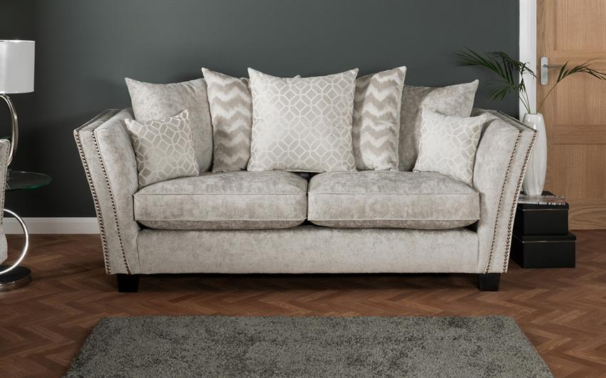 Miley 3 Seater Sofa Scatter Back