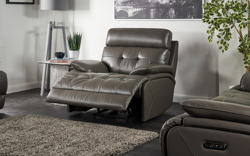La-Z-Boy Knoxville Manual Recliner Chair, , large