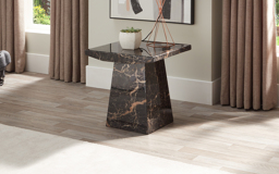 Adelaide Marble Lamp Table, , small