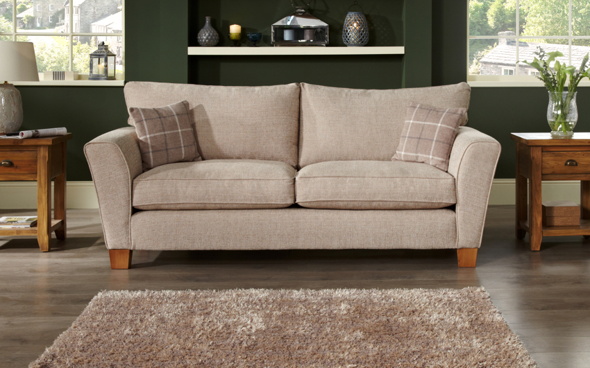Lois 3 Seater Sofa Standard Back, , large