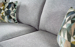 Inspire Ezra 2 Seater Pocket Sprung Sofa Bed Scatter Back, 9258 Stone Linden Chenille/9172, small
