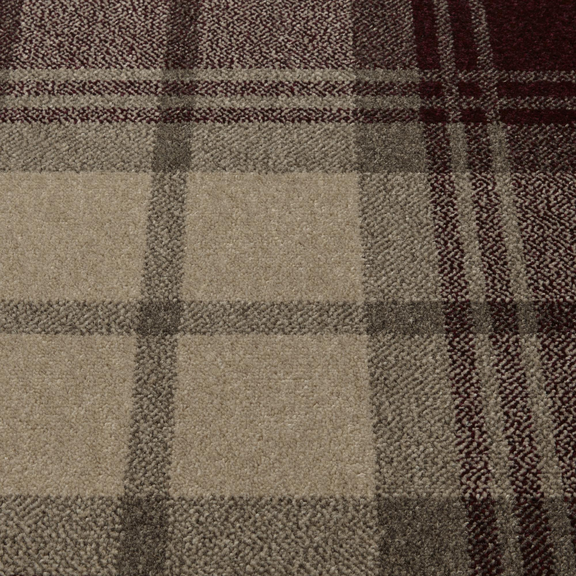 Roger Fells Campbell Town Tartan Carpet, Harris, swatch