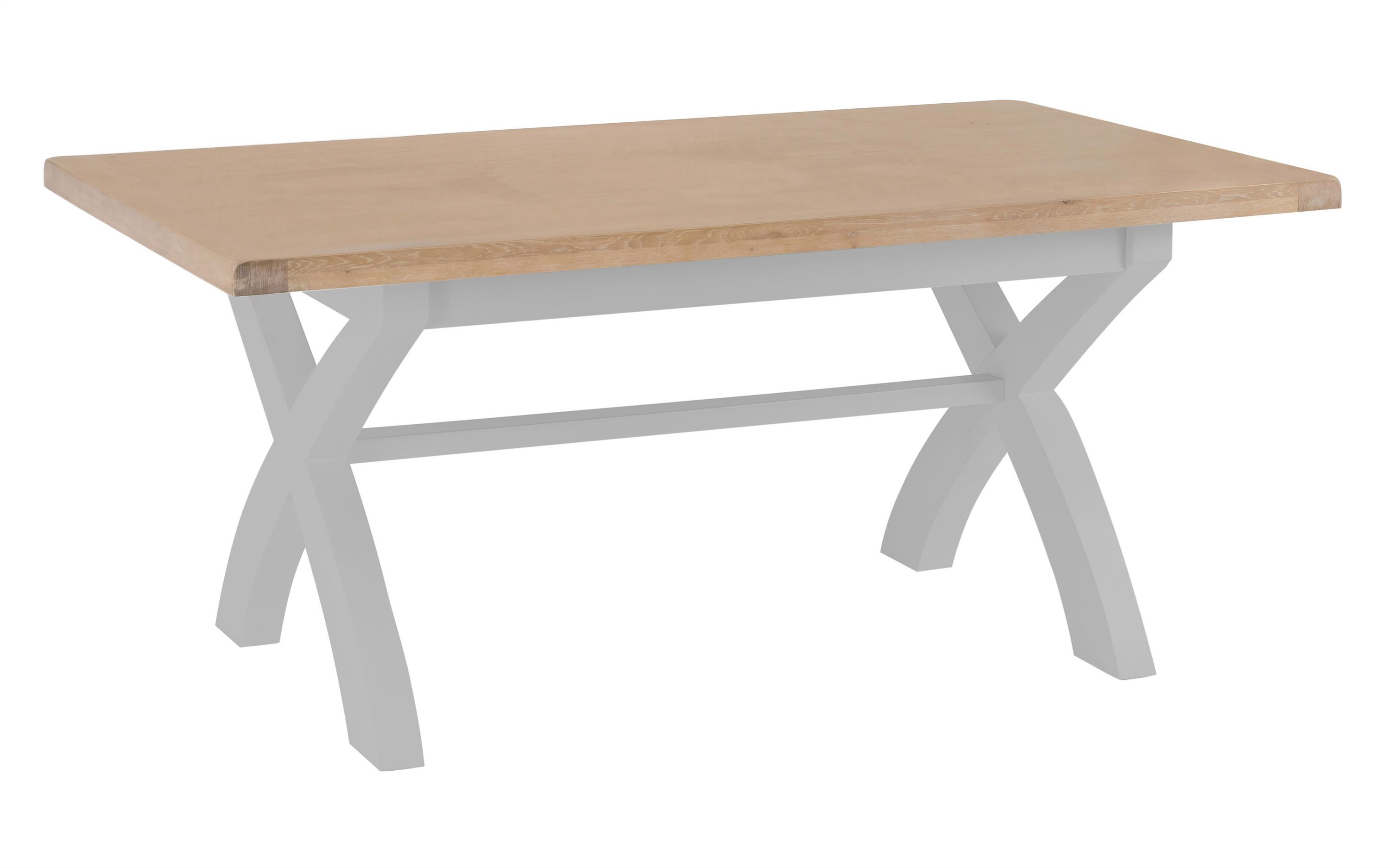 Victoria 1.8m Fixed Top Dining Table, , large
