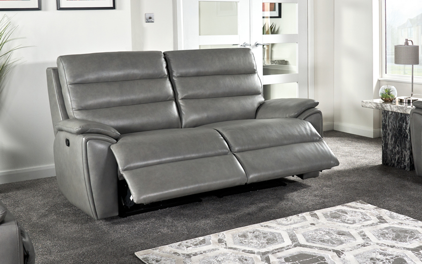 La-Z-Boy Winslow 3 Seater Manual Recliner Sofa - 2 Over