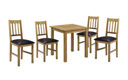 Herrington Square Dining Table & 4 Chairs, , small