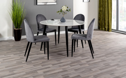 Milano Dining Table & 4 Chairs