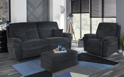 La-Z-Boy Tamla 3 Seater Manual Recliner Sofa, Coda Black, small