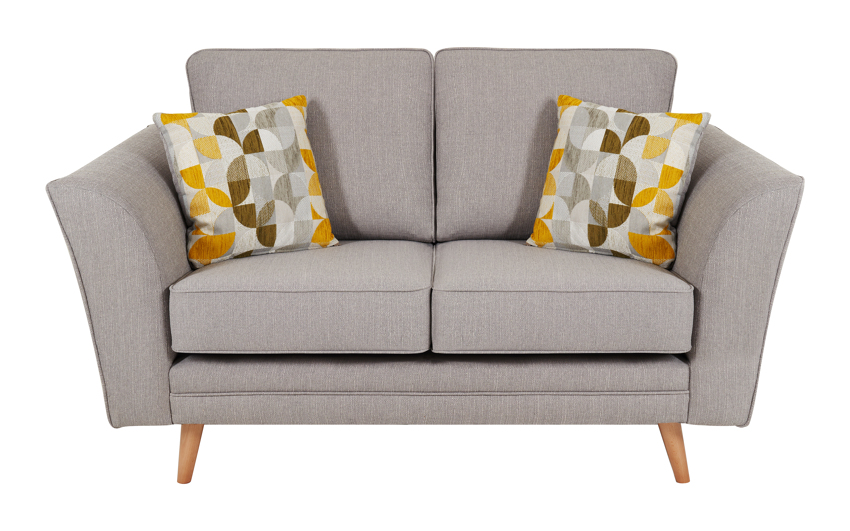 Zeus 2 Seater Sofa Standard Back, , large