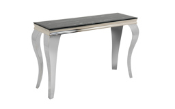 Paris Marble Effect Console Table, , small