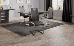 Rimini Grey Dining Chair, , small