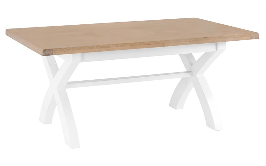 Harper 1.8m Fixed Top Dining Table, , large