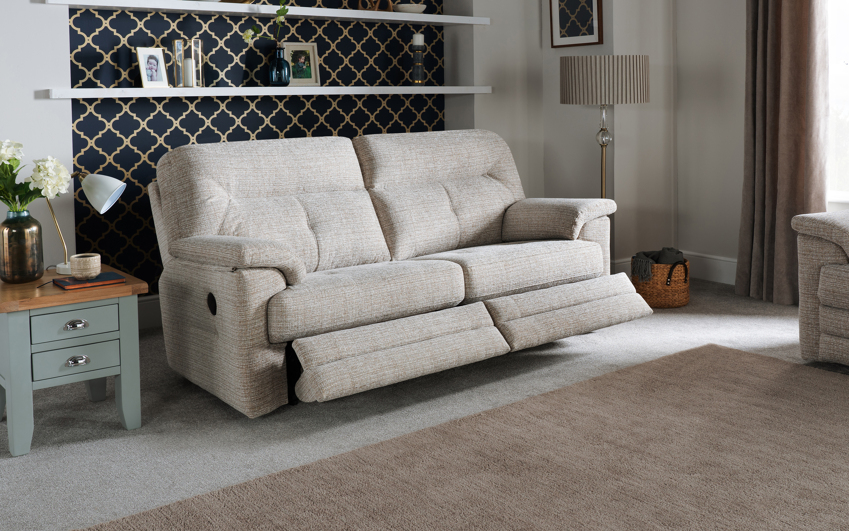 G Plan Stanton 3 Seater Power Recliner Sofa Double