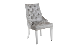 Paris Silver Dining Chair, , small