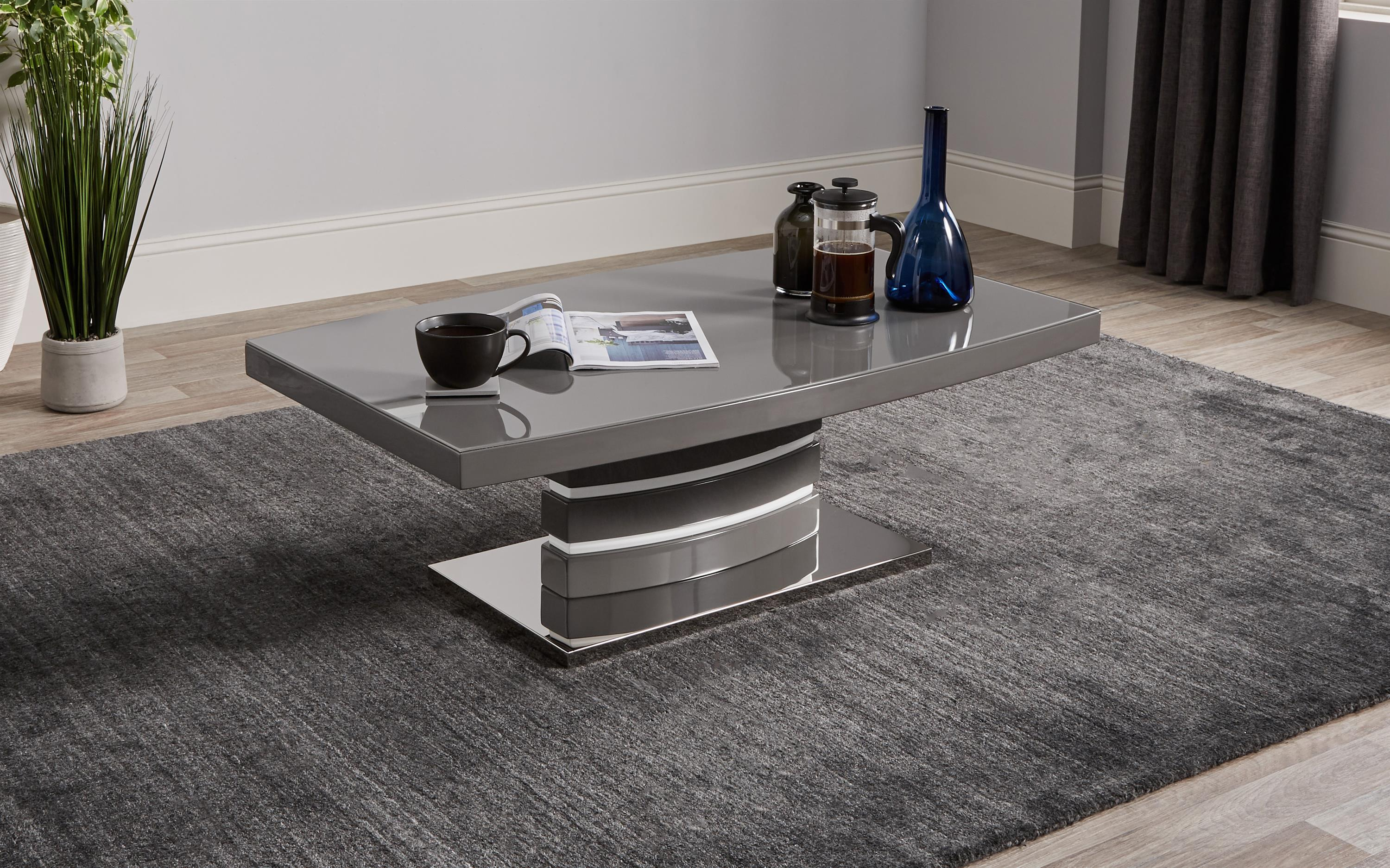 Rimini Grey Coffee Table, , large