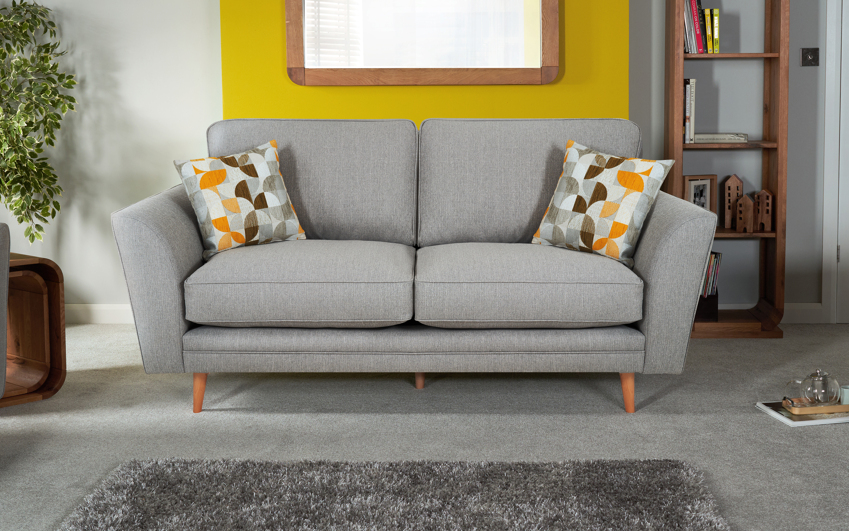 Zeus 3 Seater Sofa Standard Back