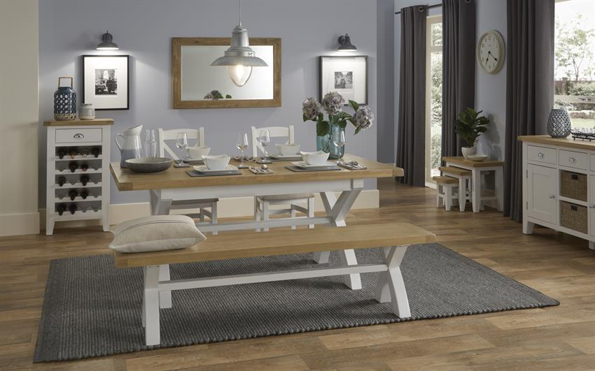 Harper 2.5m Extending Dining Table, , large