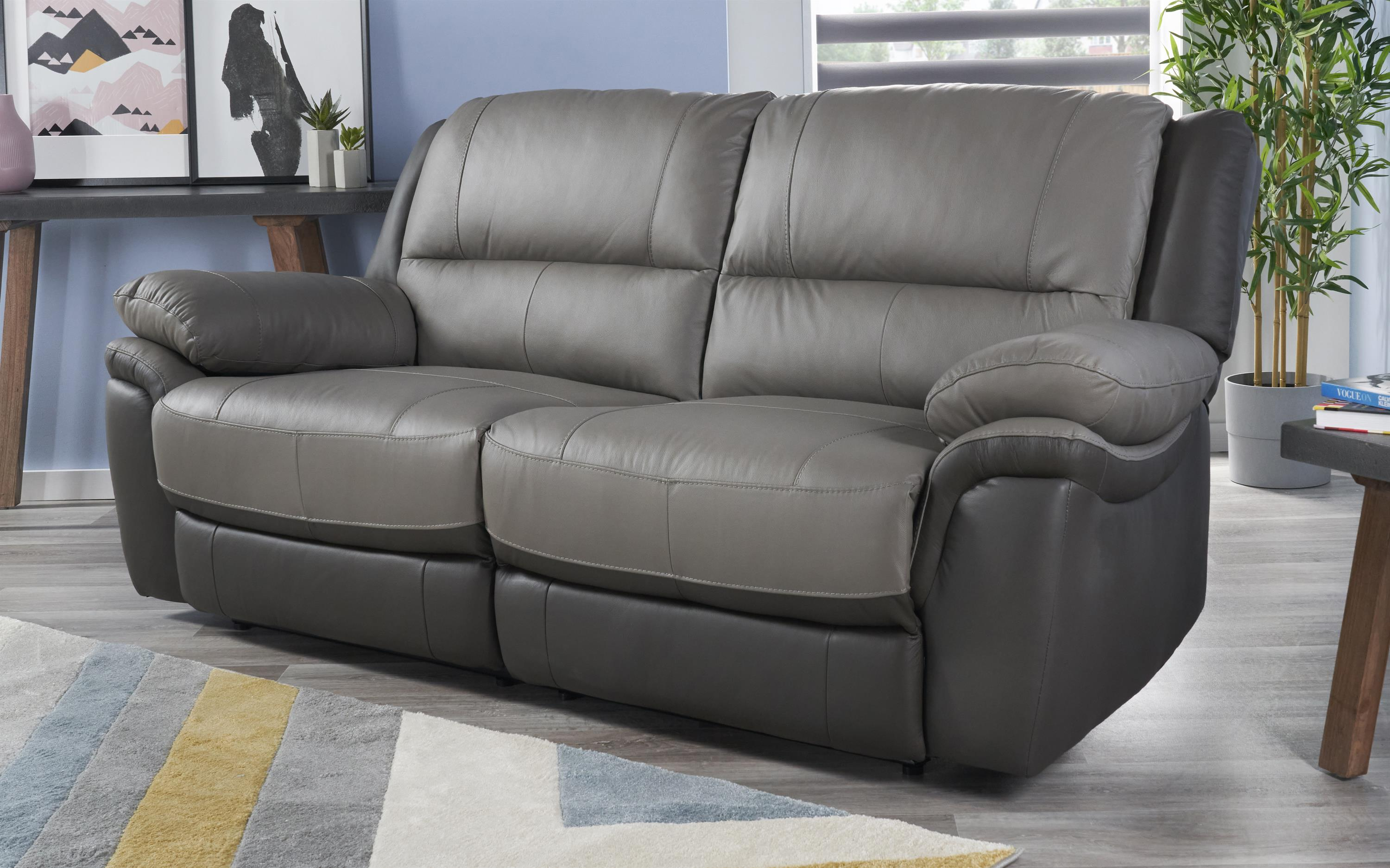 Pluto 3 Seater Static Sofa