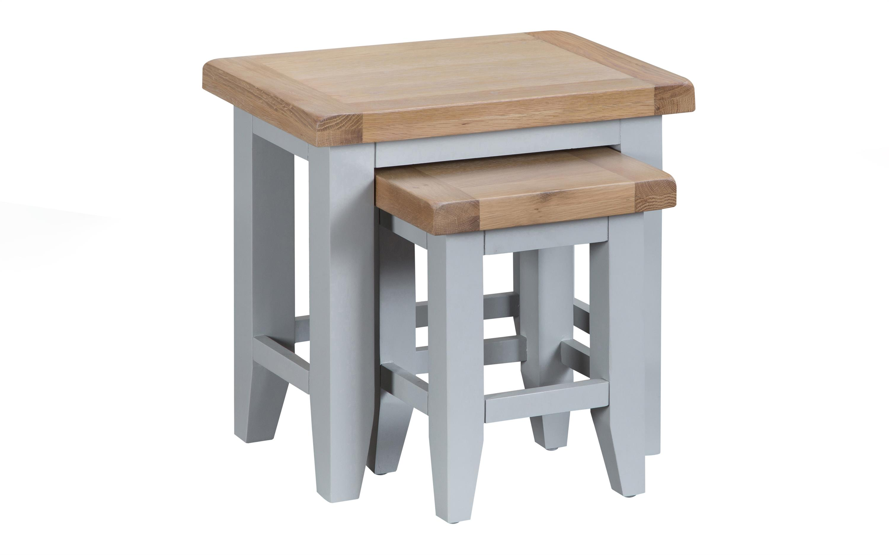 Victoria Nest of 2 Tables, , large