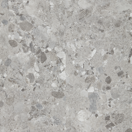 Pure Tile LVT 2.25sqm Pack Size, 60001589 Terrazzo Light Grey, swatch