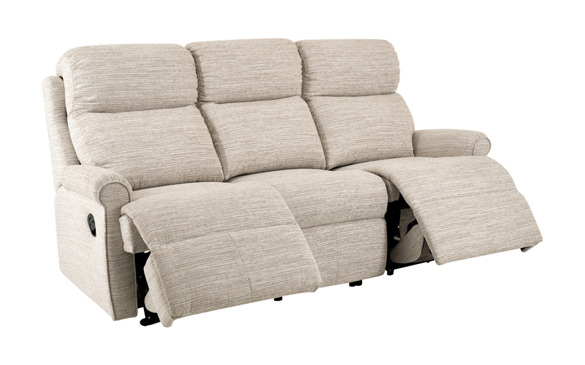 G Plan Newbury 3 Seater Manual Recliner Sofa Double, , large