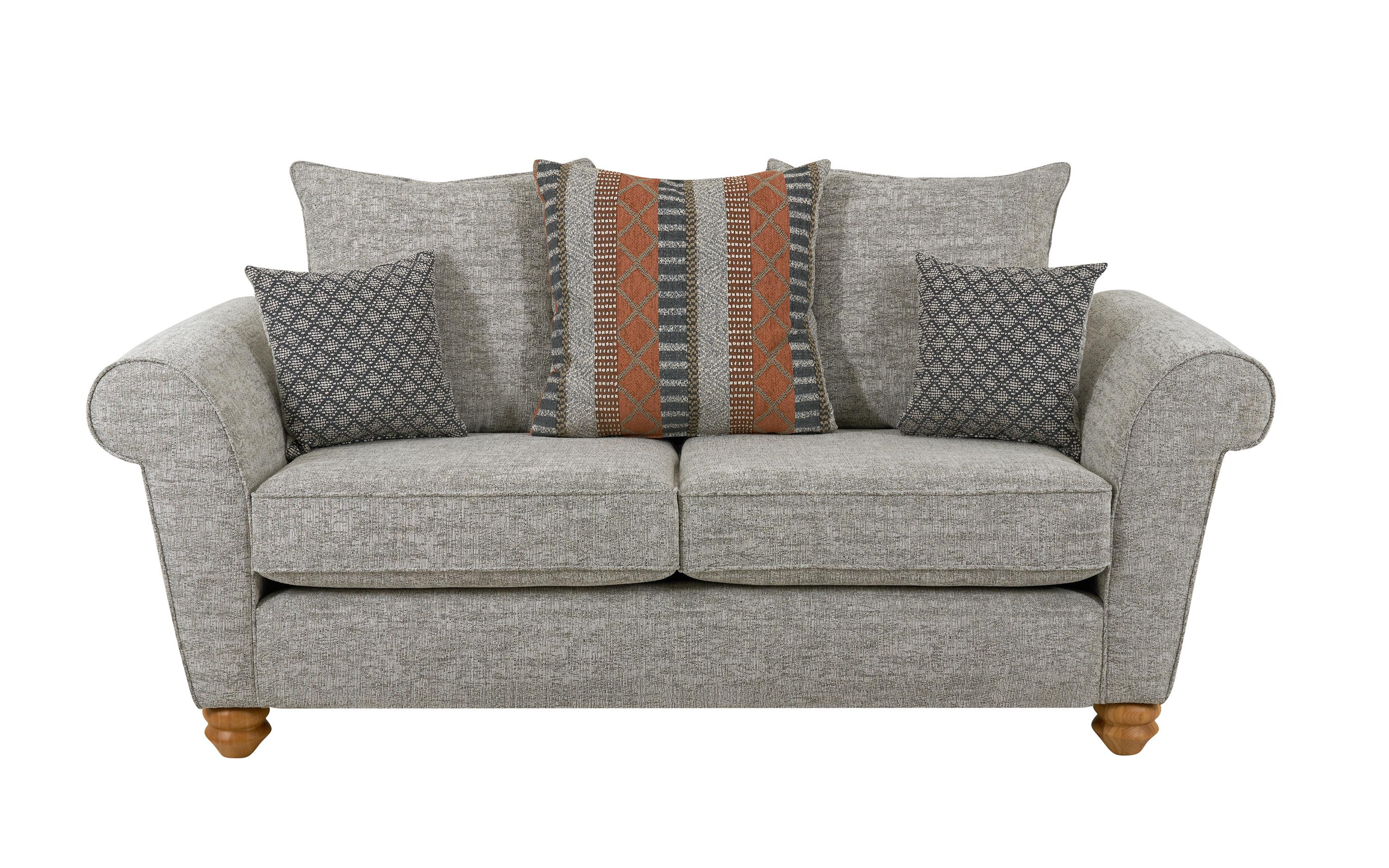 Aurora 2 Seater Sofa Scatter Back, , large