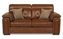 Fergie Midi Sofa, Ch Tan 166298/Ctrst Stitch Beige, small