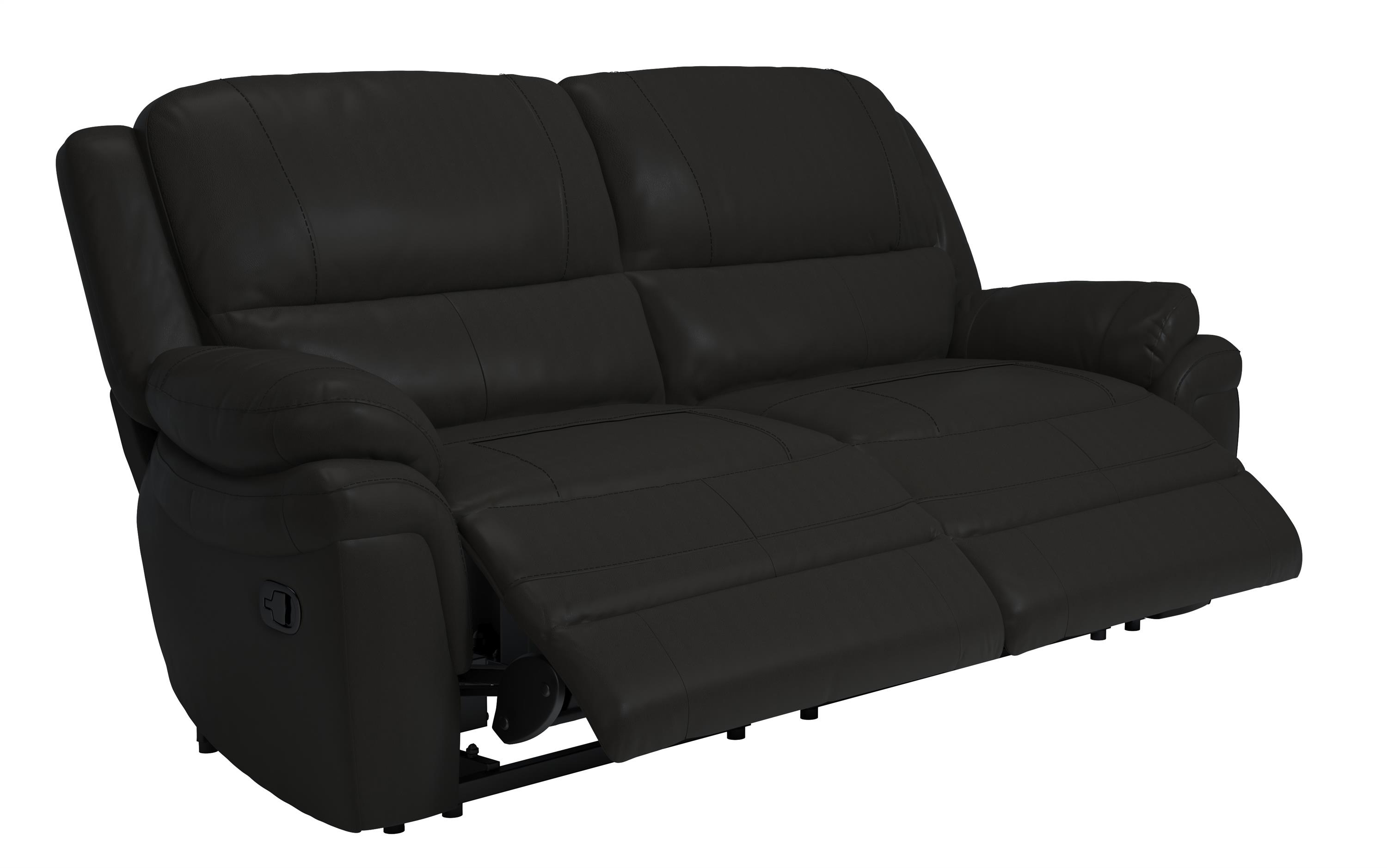 Pluto 3 Seater Manual Recliner Sofa