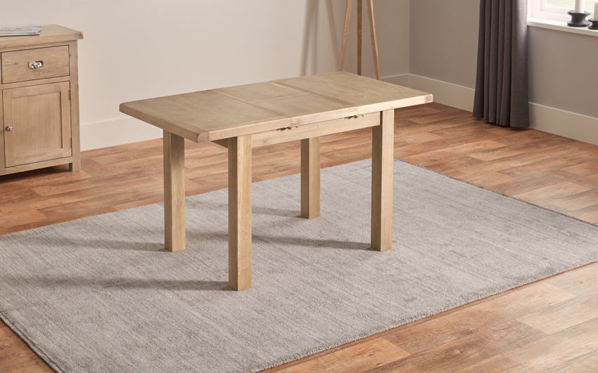 Romeo 1m Extending Dining Table