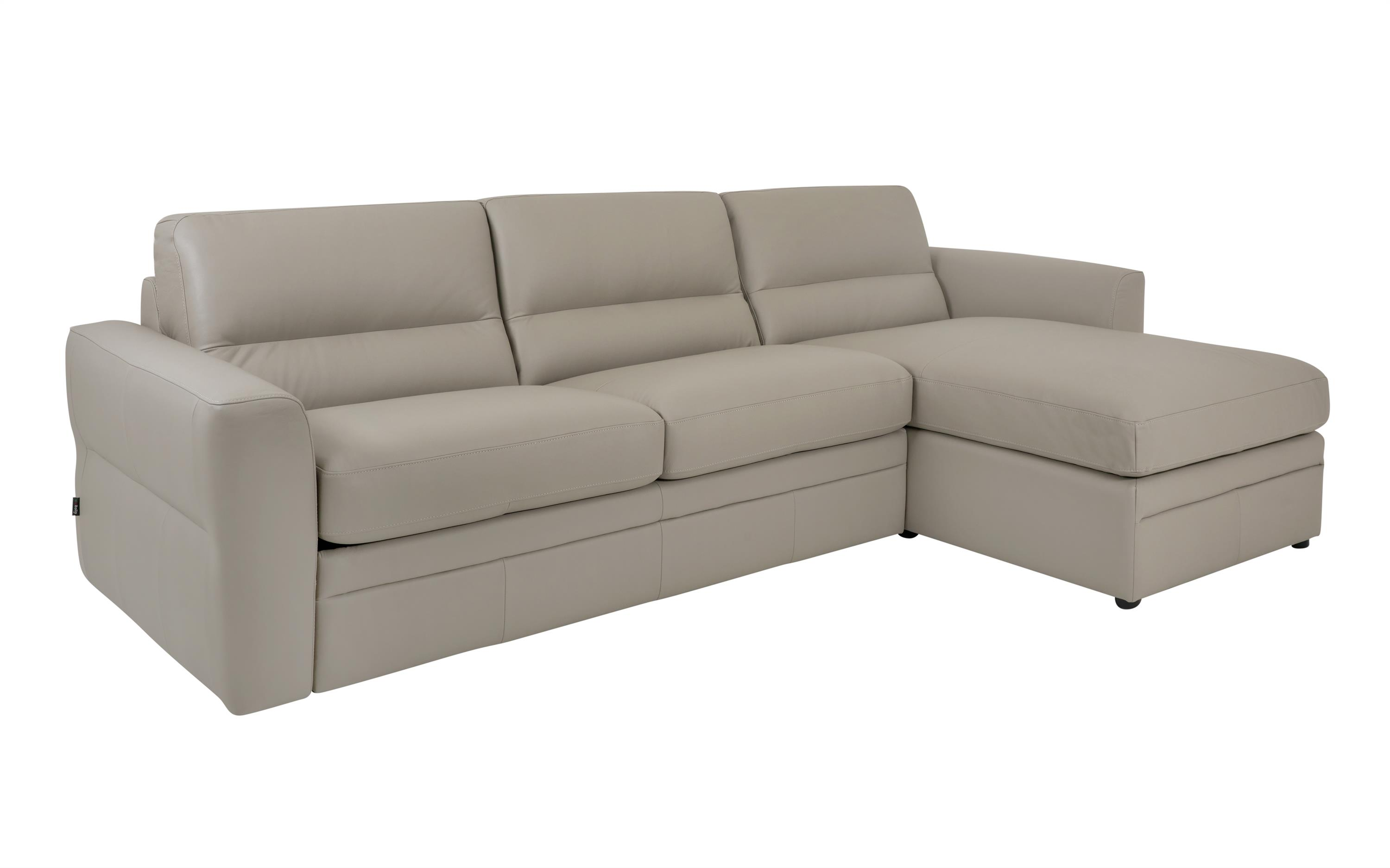 Sisi Italia Amalfi 3 Seater Sofa Bed With RHF Storage Chaise, , large