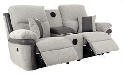 La-Z-Boy Nevada 2 Seater Power Recliner Sofa With Sound, , small
