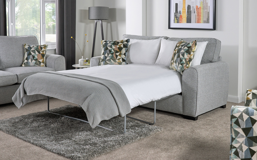Inspire Ezra 3 Seater Sofa Bed Standard Back