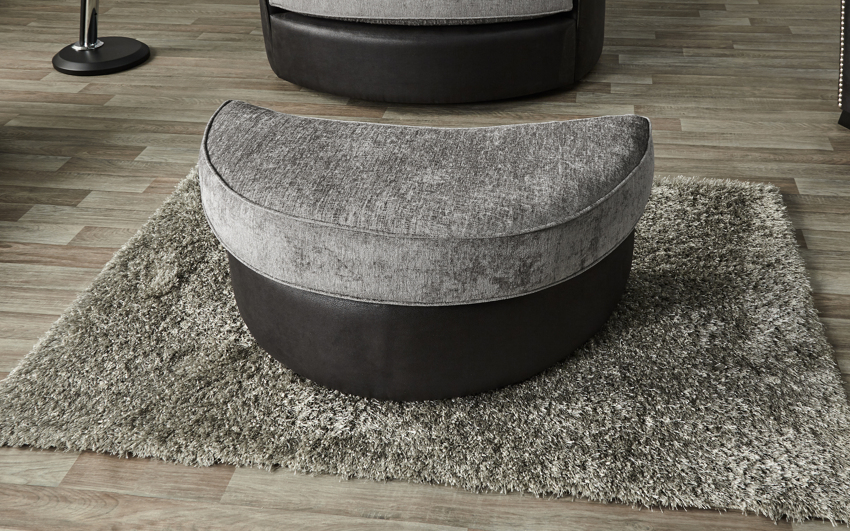 Evisa Large Twister Footstool