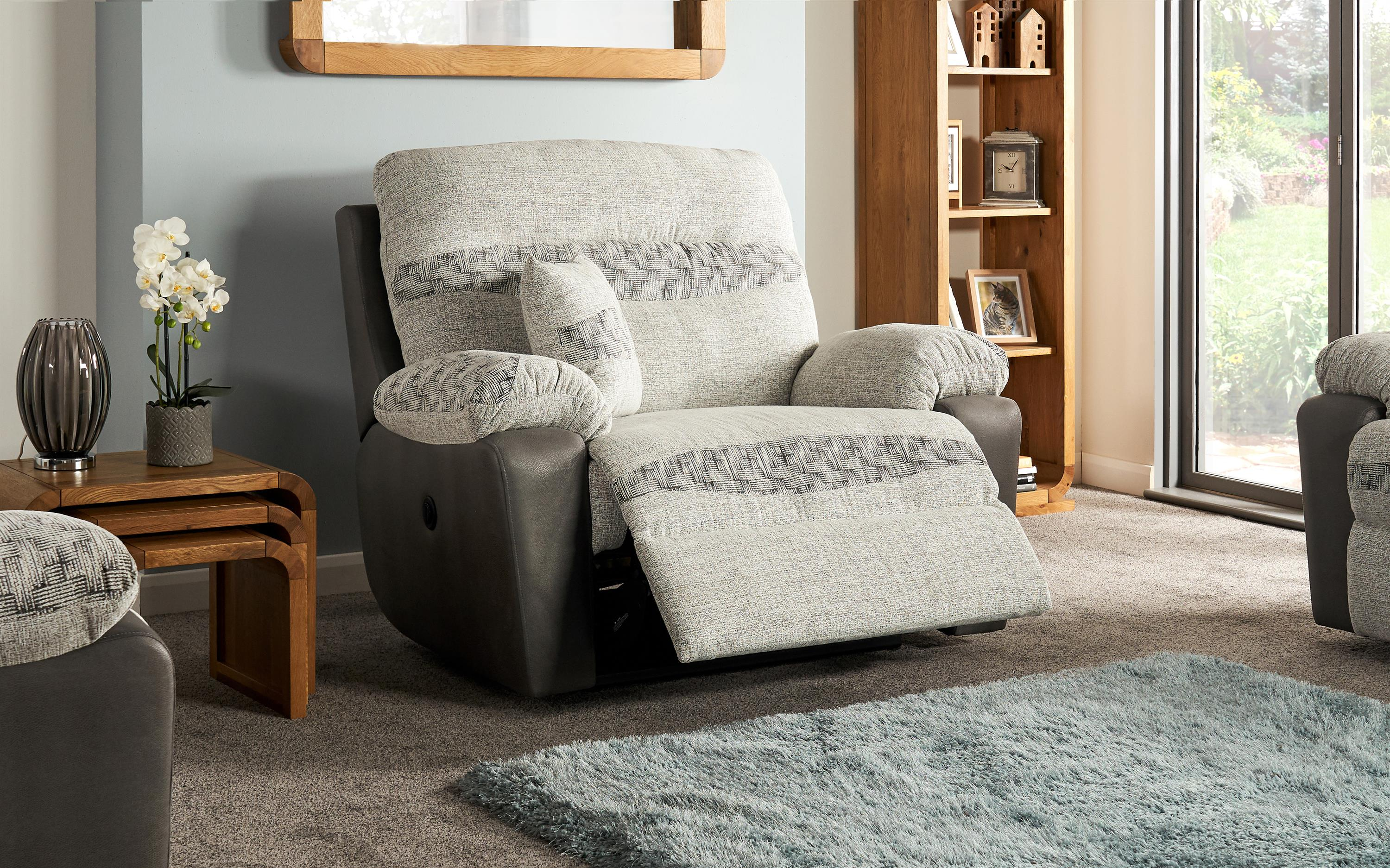 Cayman Love Chair Power Recliner, , large