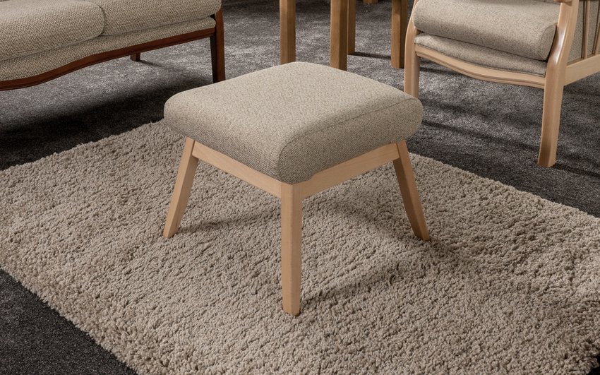 York Tall Footstool