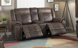 Endurance Barkley 2 Seater Power Recliner Sofa with Console