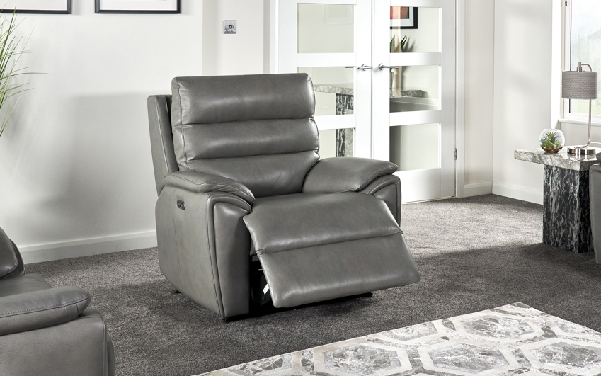 La-Z-Boy Winslow Power Recliner Chair with Head Tilt, , large