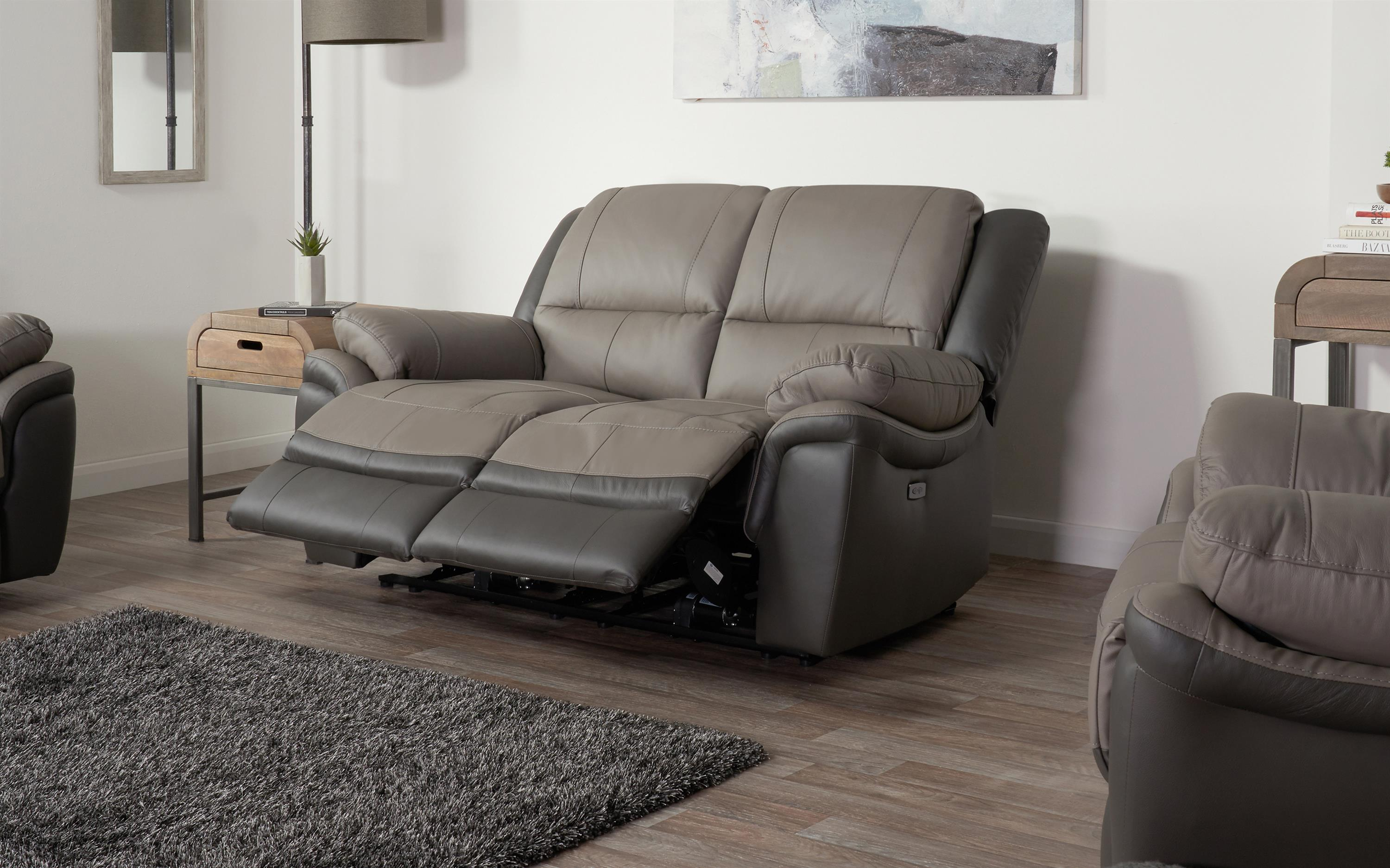 Pluto 2 Seater Power Recliner Sofa