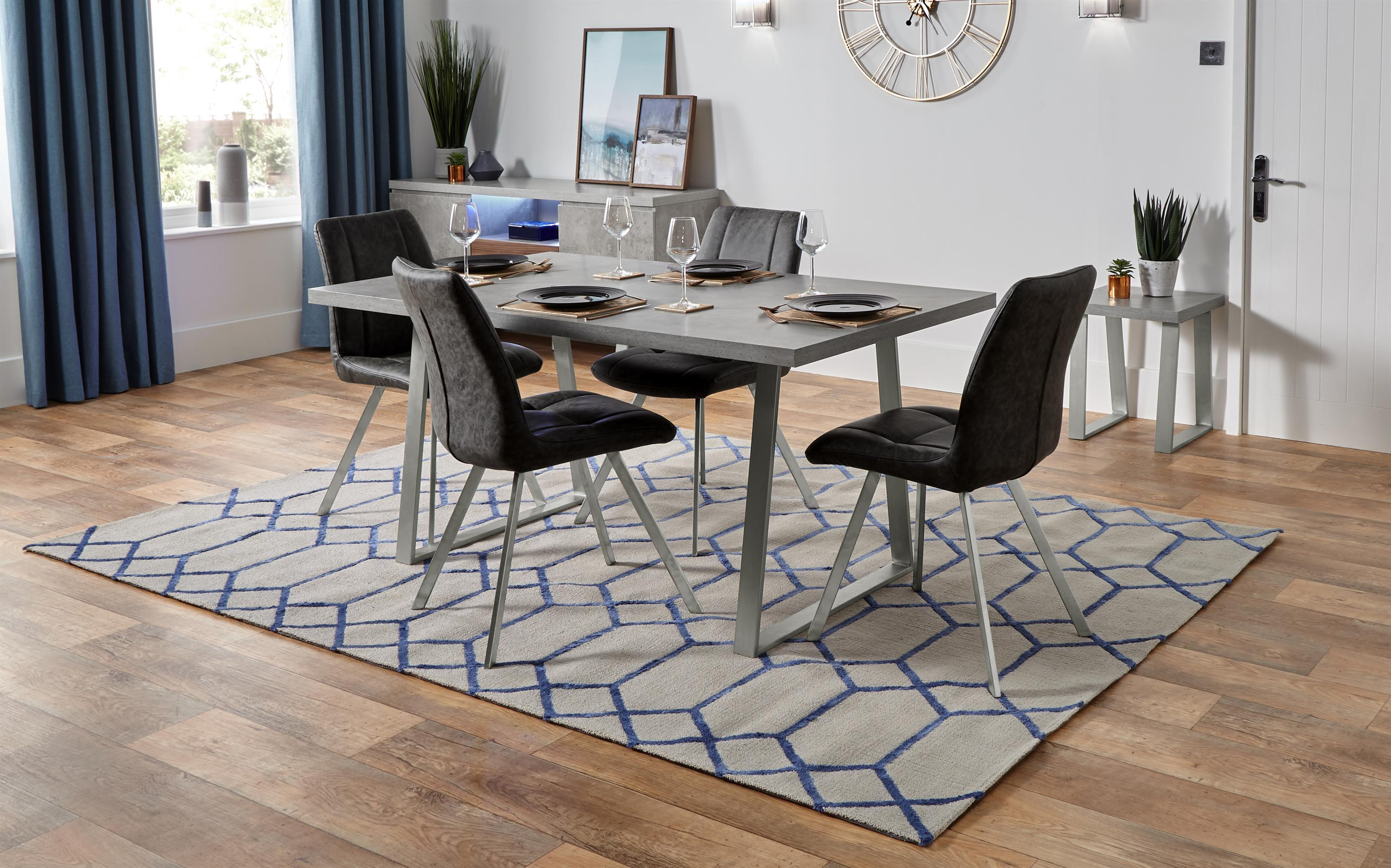 Endurance Diamond Dining Table & 4 Chairs