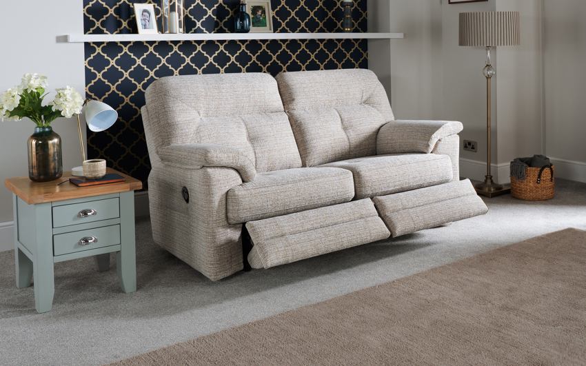 G Plan Stanton 2 Seater Manual Recliner Sofa Double